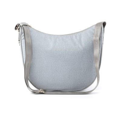 BORSA LUNA BAG BORBONESE MEDIA MARMO 934777296I50