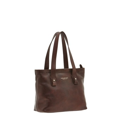 BORSA THE BRIDGE 04435579 SHOPPER MARRONE